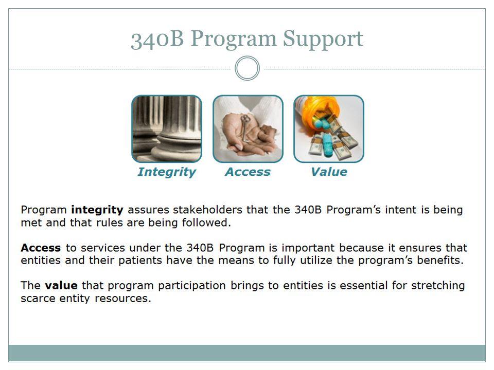 340B Program Support