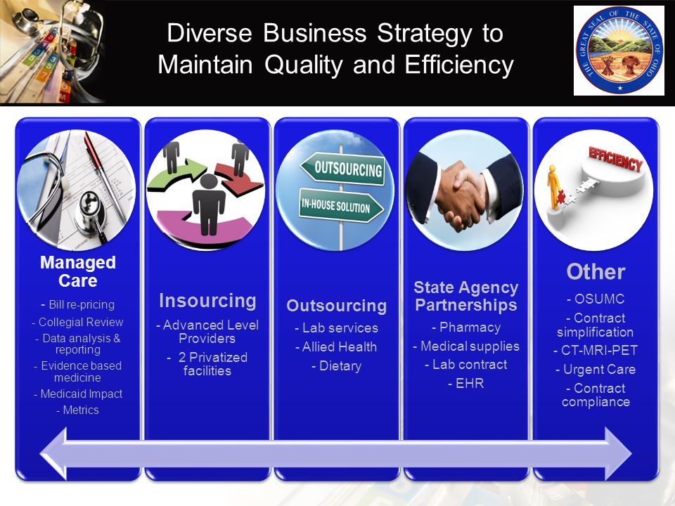 Diverse Business Strategy to Maintain Quality and Efficiency
