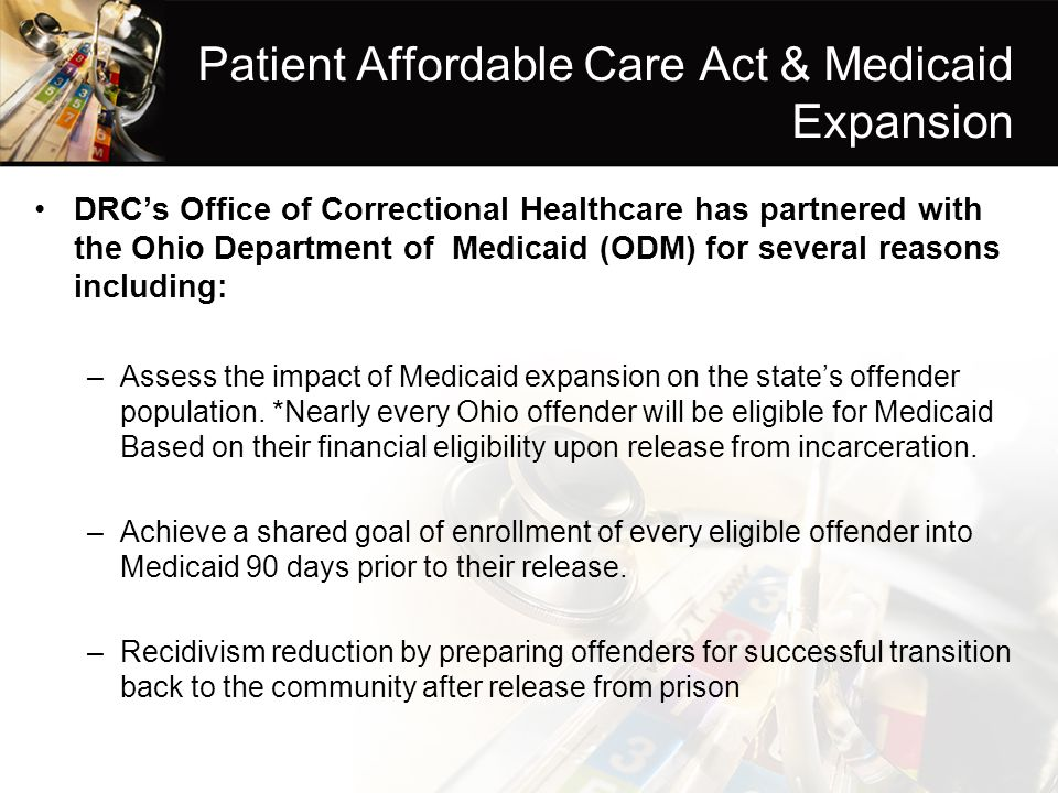Patient Affordable Care Act & Medicaid Expansion