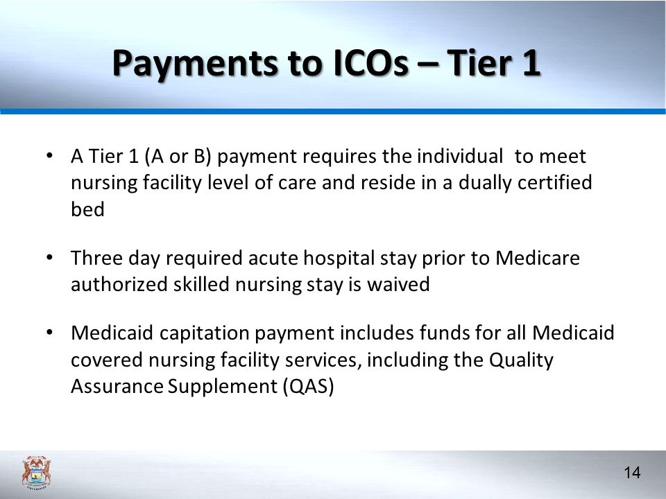 Payments to ICOs – Tier 1