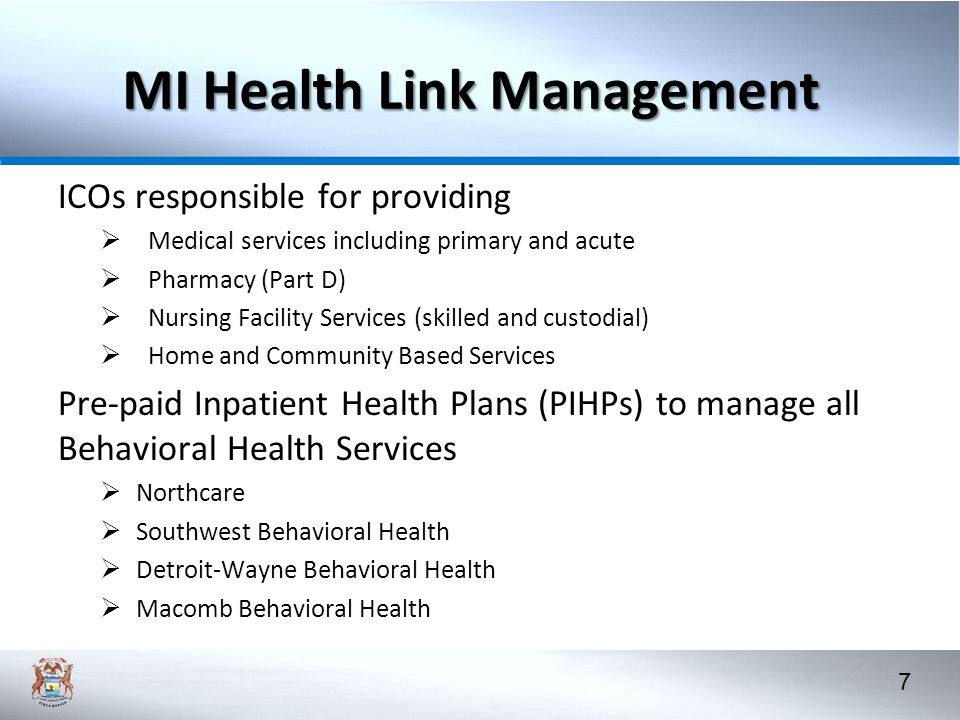 MI Health Link Management