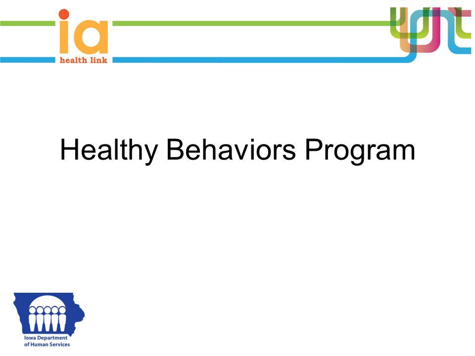 Healthy Behaviors Program