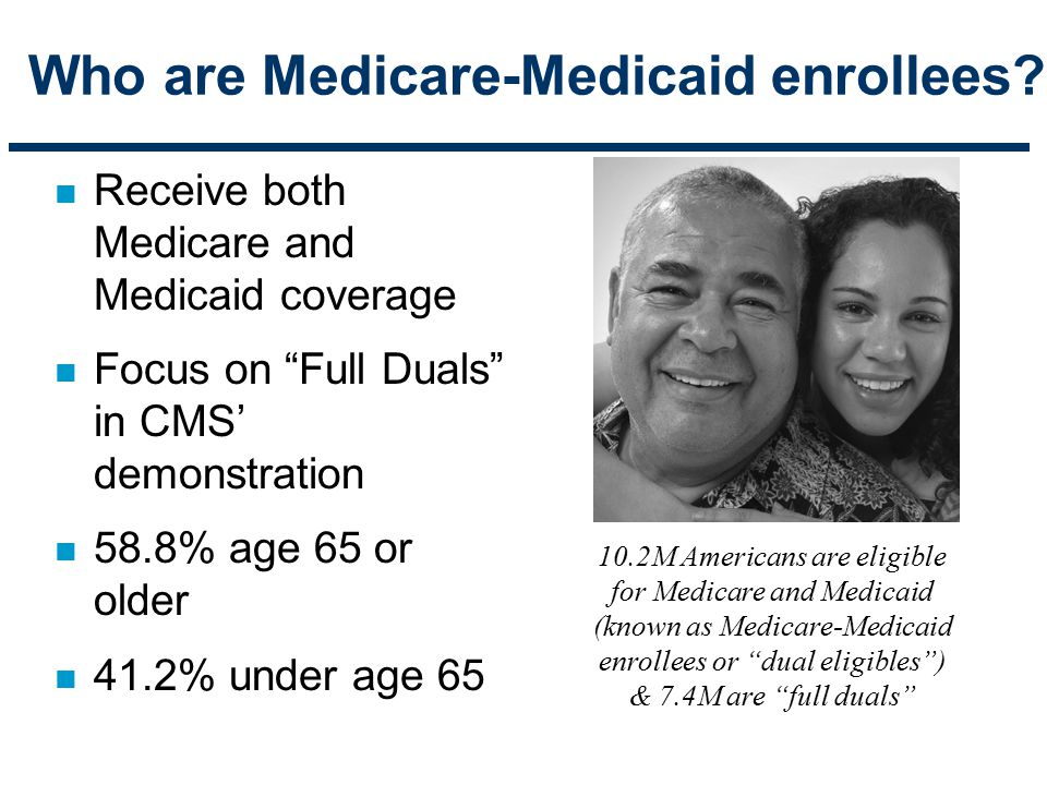 Who are Medicare-Medicaid enrollees