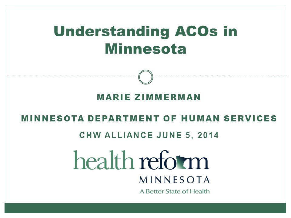 Understanding ACOs in Minnesota