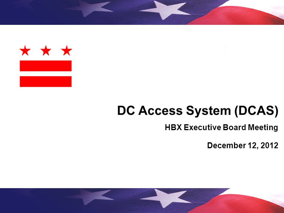 DC Access System (DCAS)
