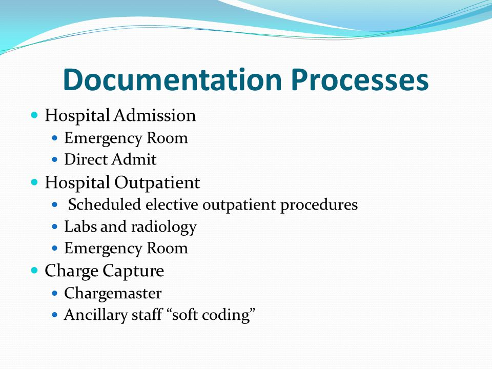 Documentation Processes