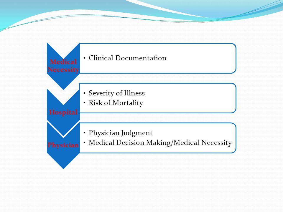 Medical Necessity Hospital