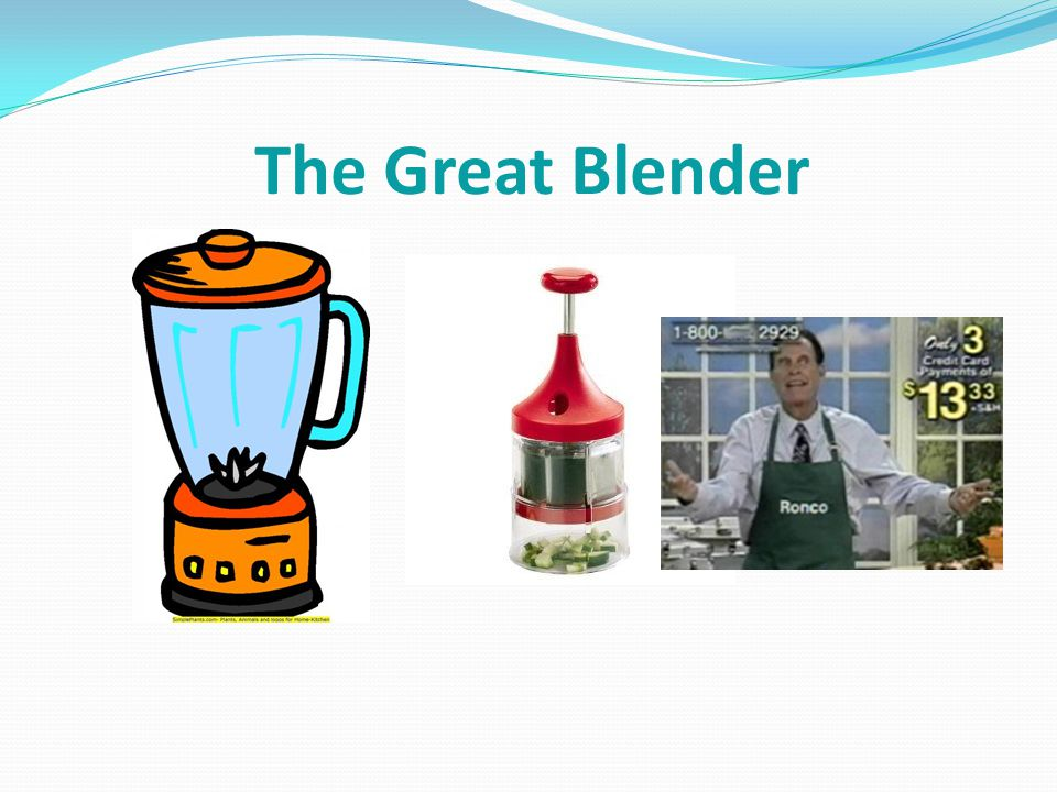 The Great Blender