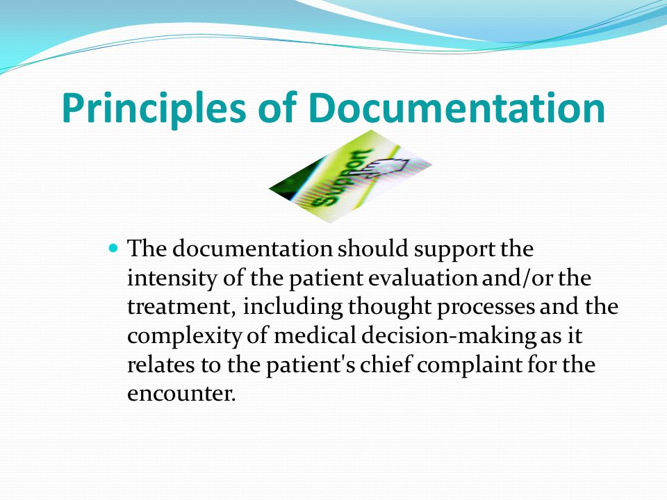 Principles of Documentation