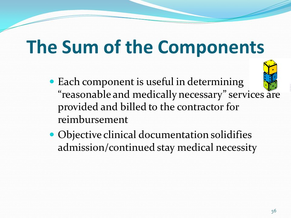 The Sum of the Components