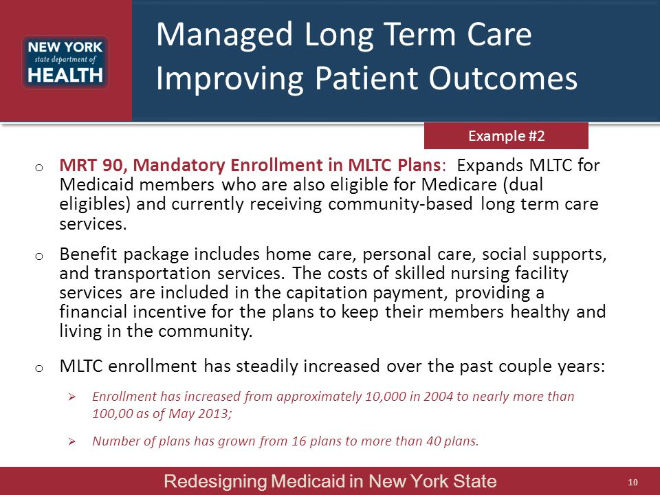 Managed Long Term Care Improving Patient Outcomes
