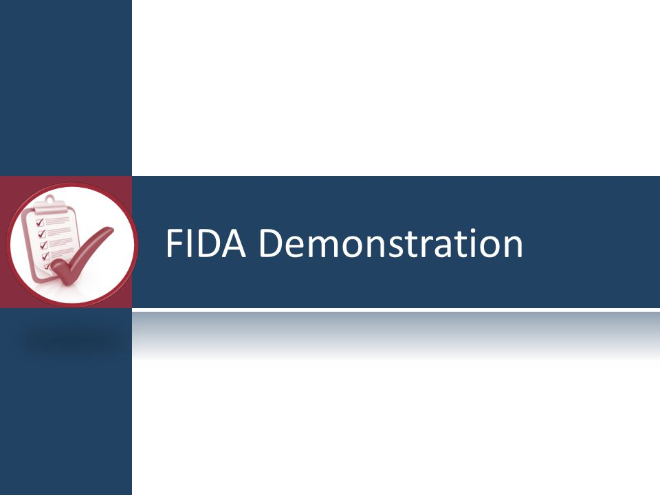 FIDA Demonstration