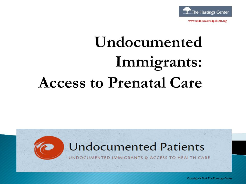 Undocumented Immigrants: Access to Prenatal Care