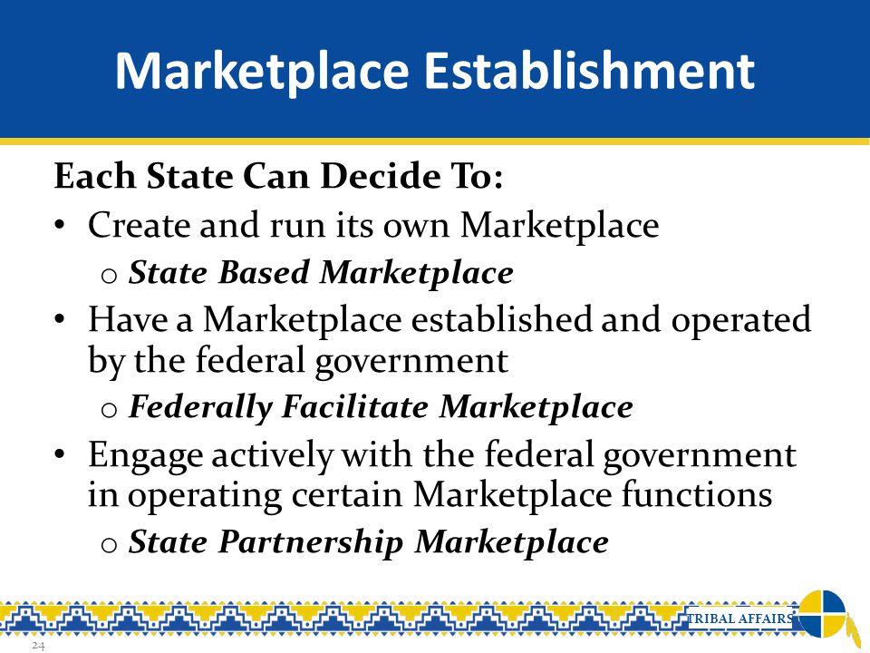 Marketplace Establishment