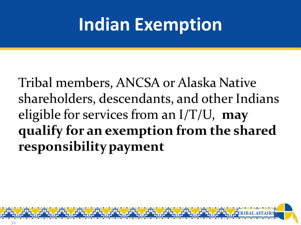 Indian Exemption