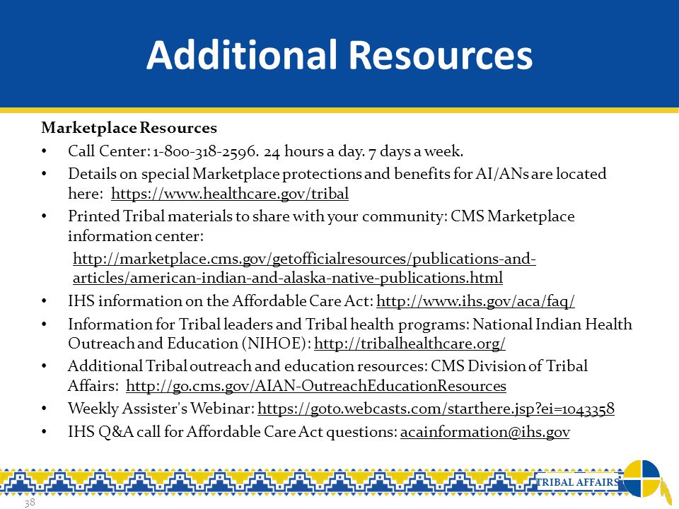 Additional Resources Marketplace Resources