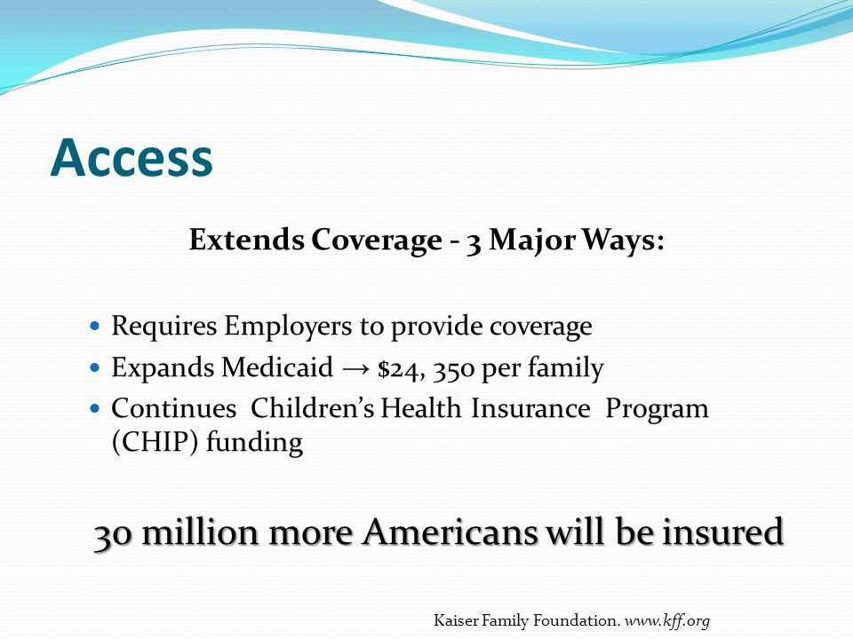 Extends Coverage - 3 Major Ways: