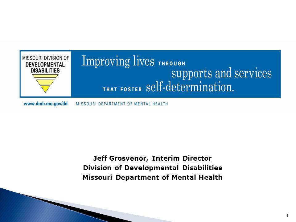 Jeff Grosvenor, Interim Director
