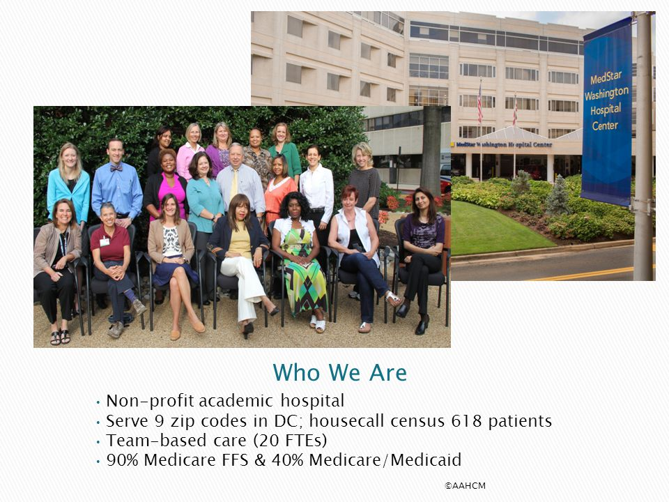 Who We Are Non-profit academic hospital