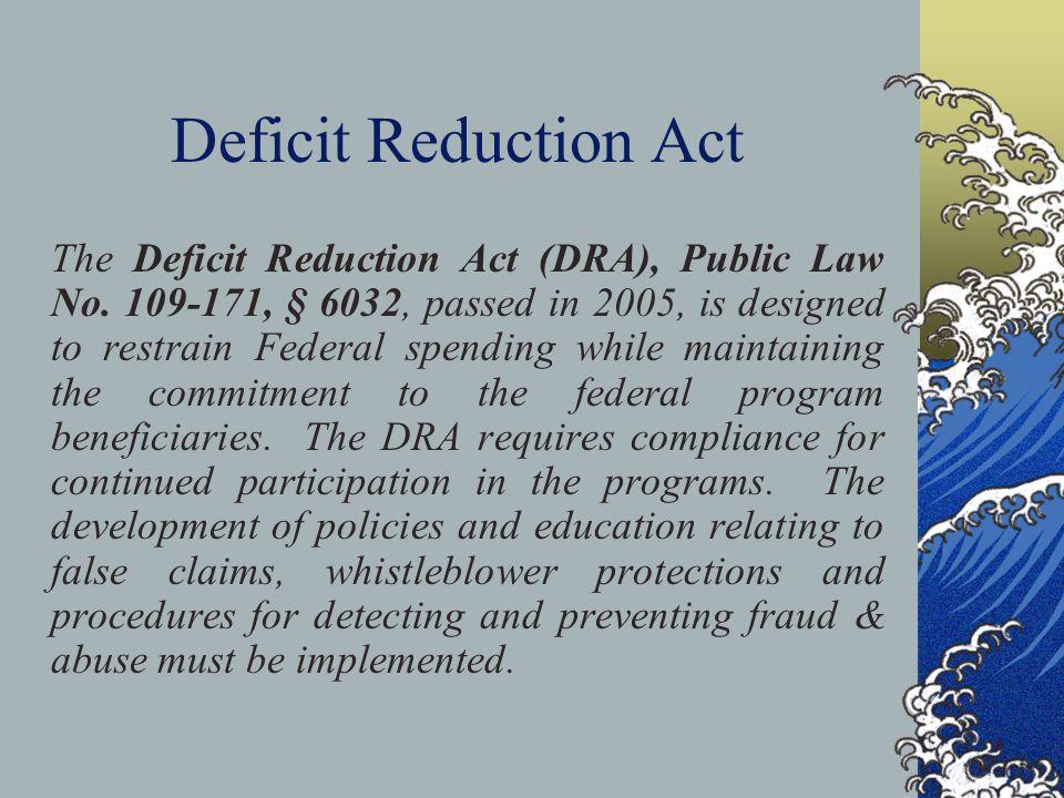 Deficit Reduction Act
