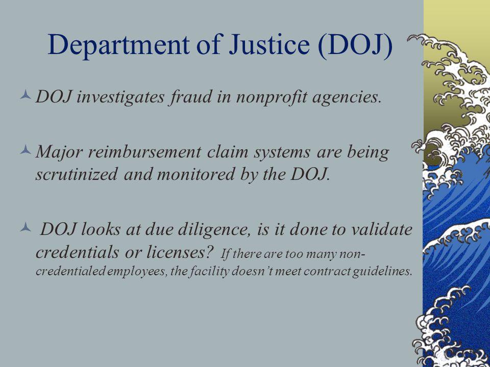 Department of Justice (DOJ)
