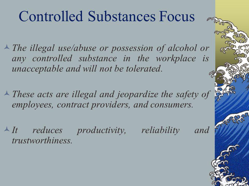 Controlled Substances Focus