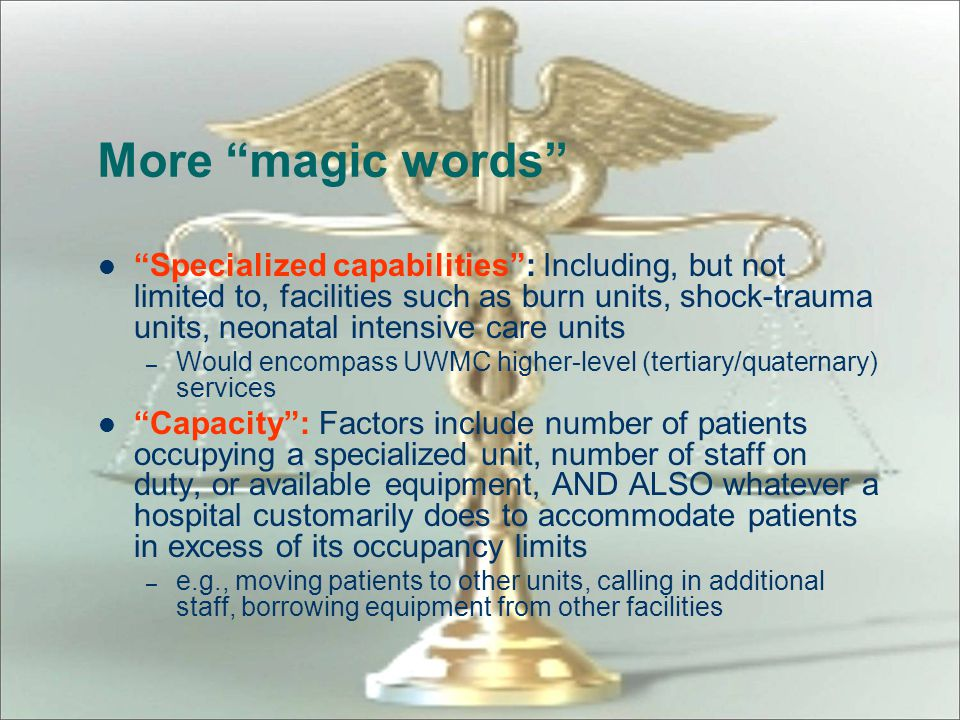 More magic words