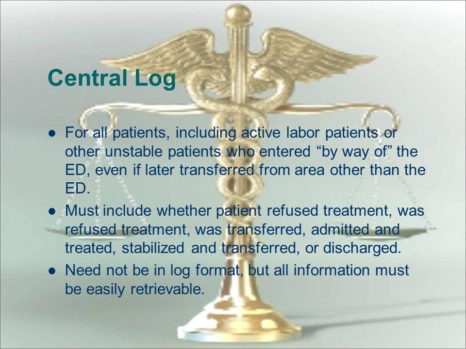 Central Log