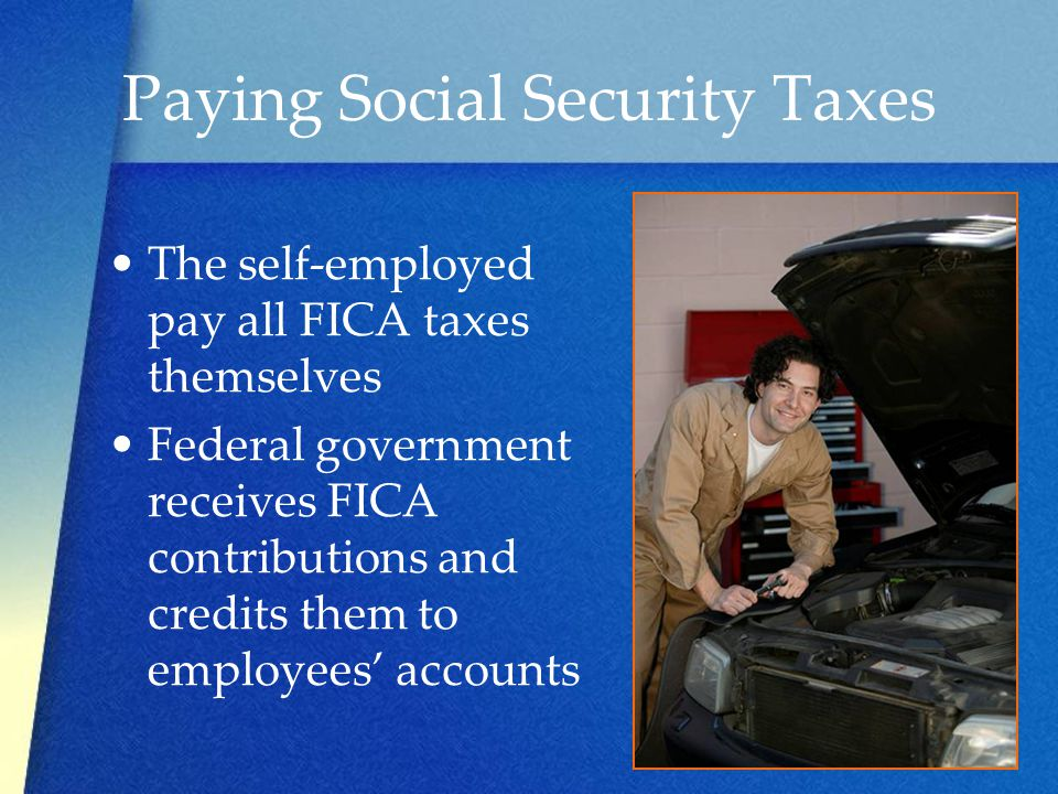 Paying Social Security Taxes
