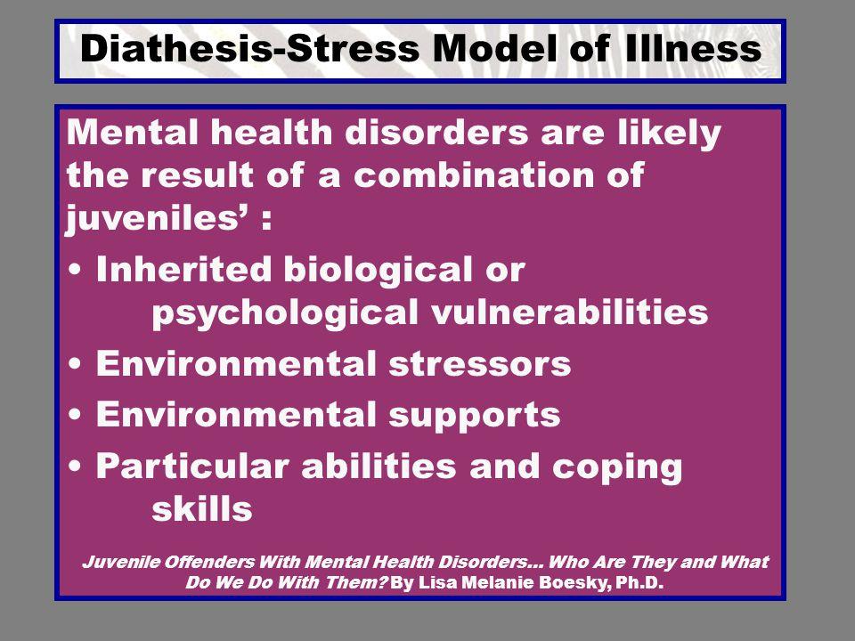 Diathesis-Stress Model of Illness
