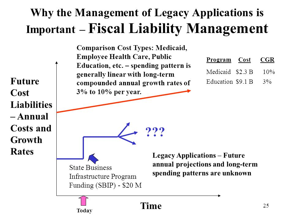 Why the Management of Legacy Applications is Important – Fiscal Liability Management