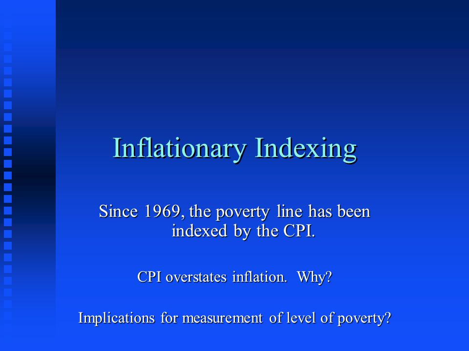 Inflationary Indexing