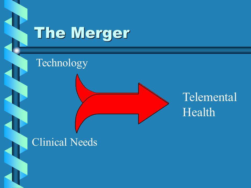 The Merger Technology Telemental Health Clinical Needs