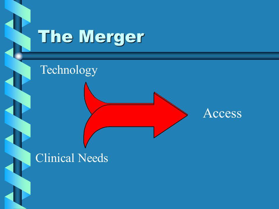 The Merger Technology Access Clinical Needs