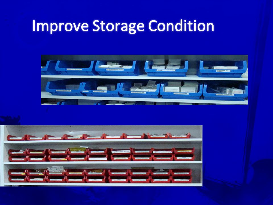 Improve Storage Condition