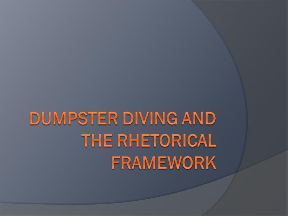 on dumpster diving soapstone