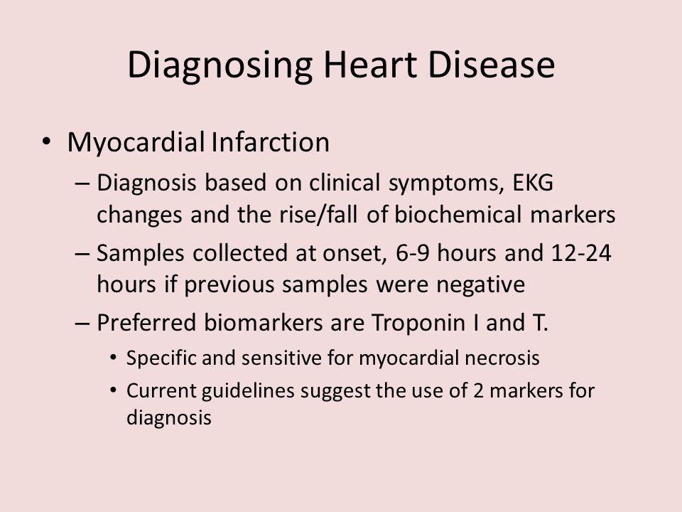 Diagnosing Heart Disease