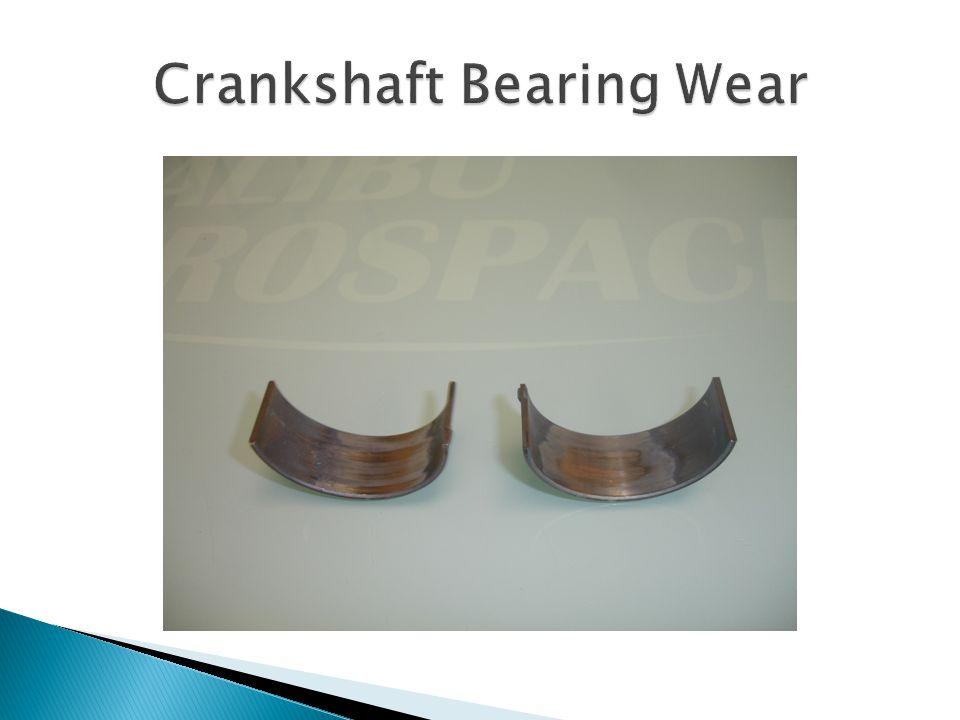Crankshaft Bearing Wear