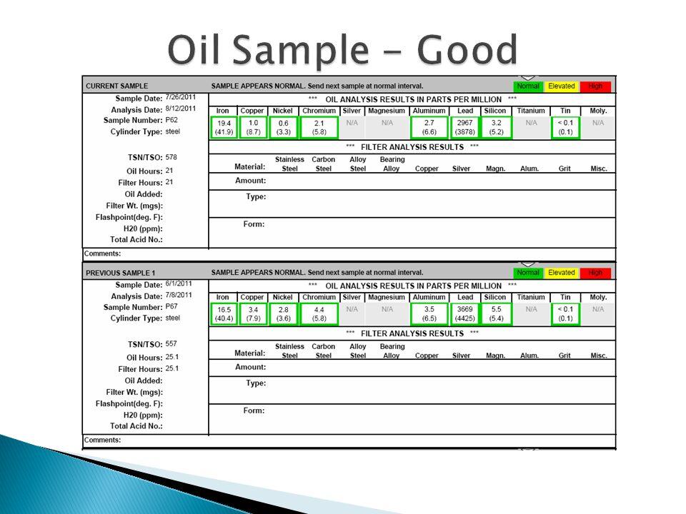 Oil Sample - Good