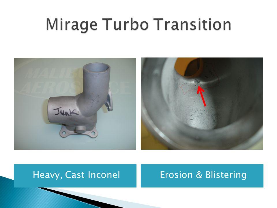 Mirage Turbo Transition