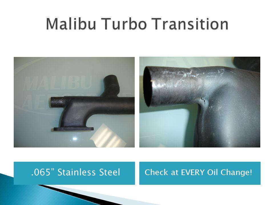 Malibu Turbo Transition