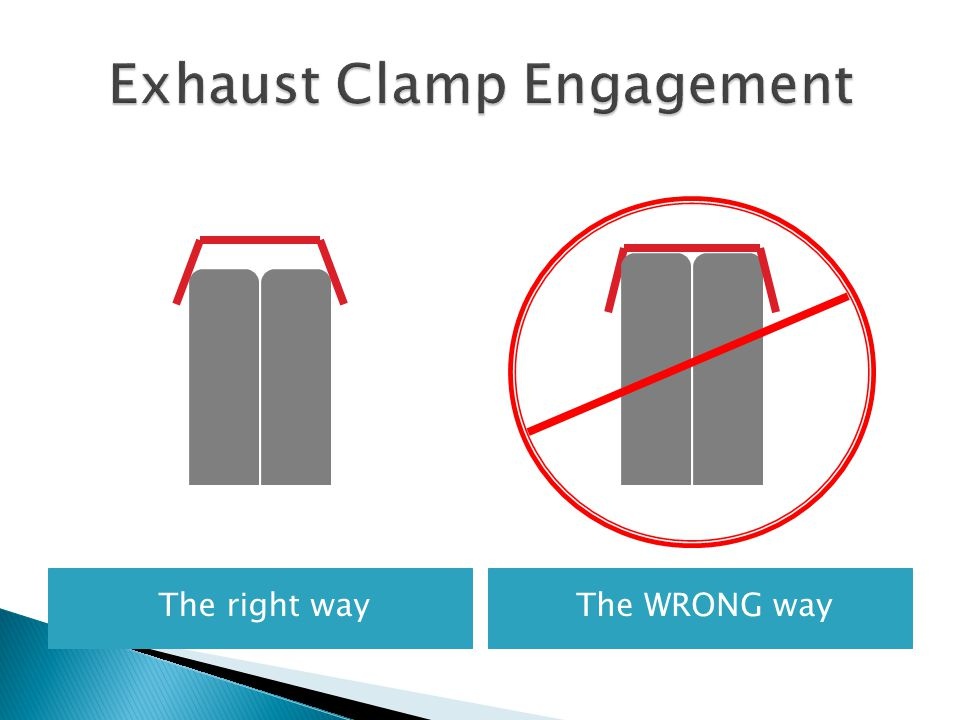 Exhaust Clamp Engagement