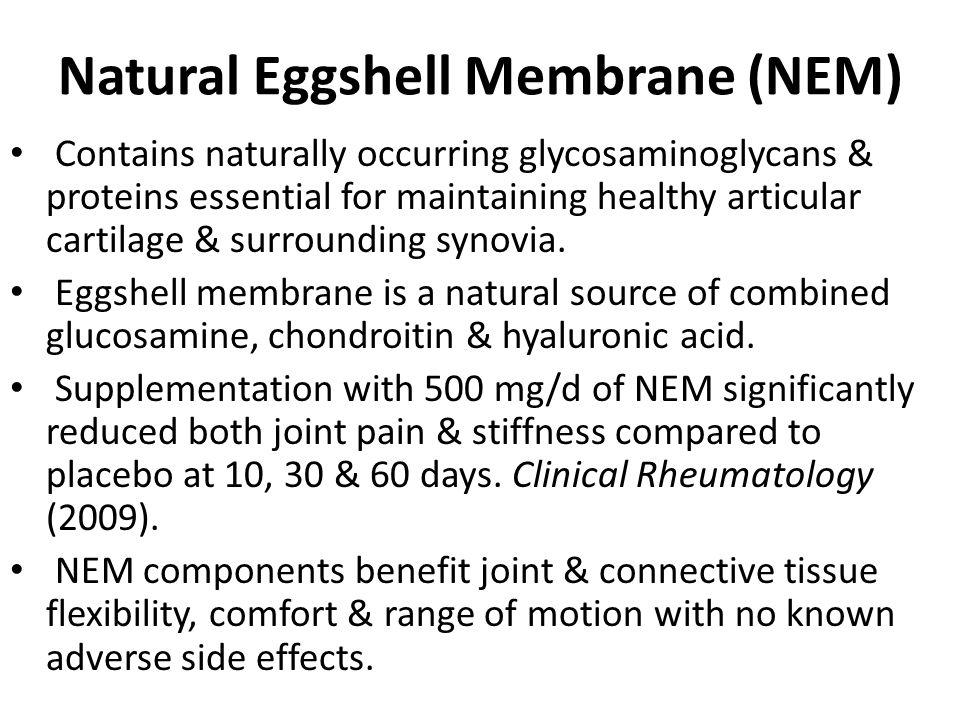 Natural Eggshell Membrane (NEM)