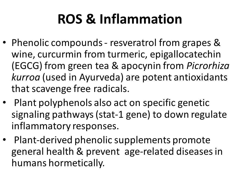 ROS & Inflammation