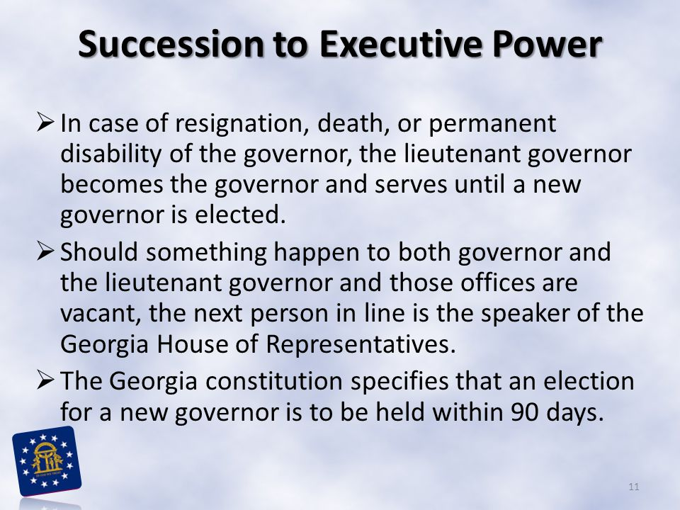 Succession to Executive Power