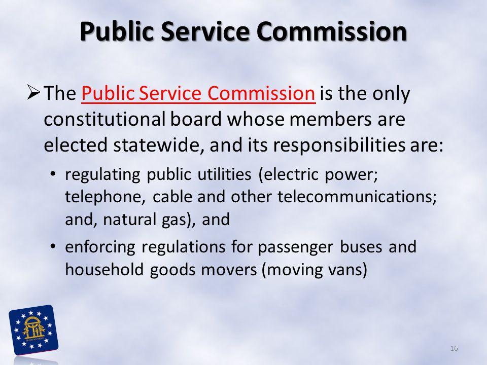 Public Service Commission