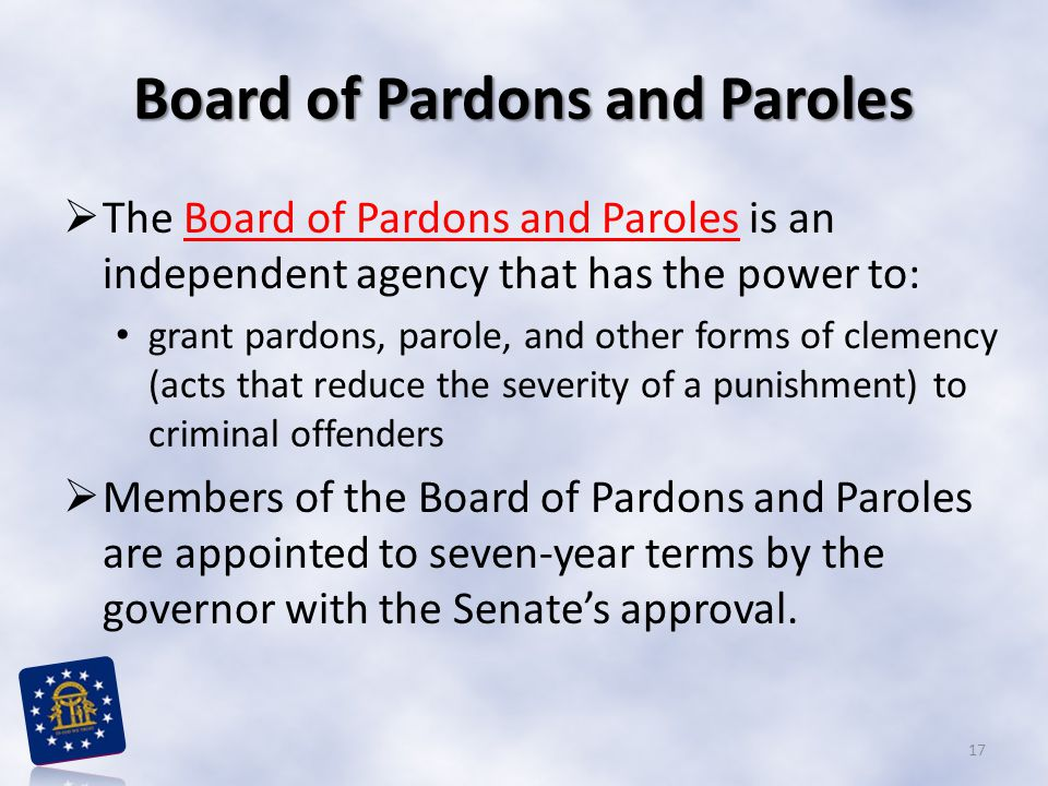 Board of Pardons and Paroles