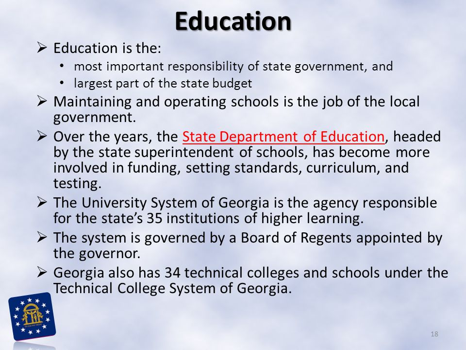 Education Education is the:
