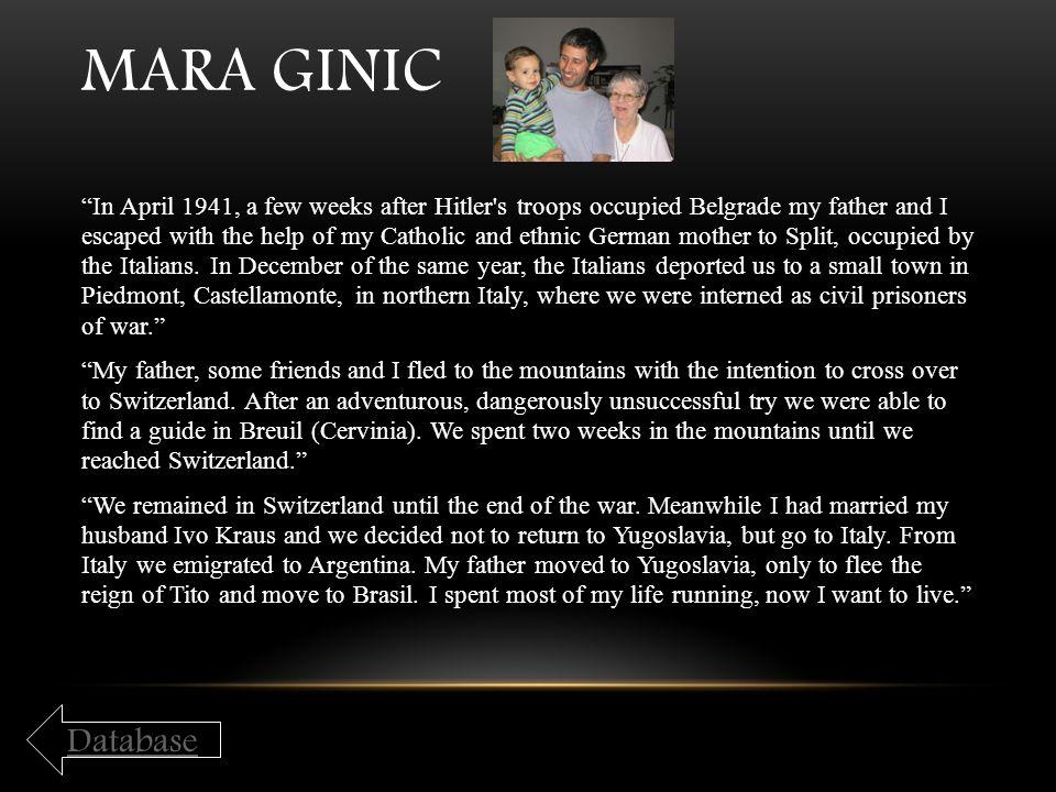Mara Ginic