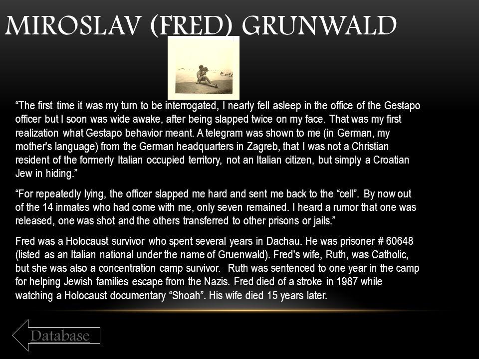 Miroslav (Fred) Grunwald